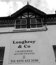 Loughrey Accountants in Hoylake Building